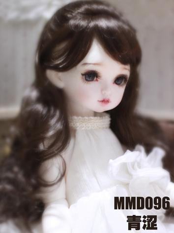 BJD Wig Girl Chocolate Curl...