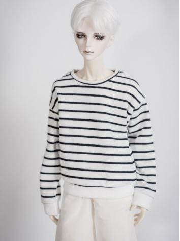 1/3 1/4 70cm Clothes Stripe T-Shirt A223 for MSD/SD/70cm Size Ball-jointed Doll