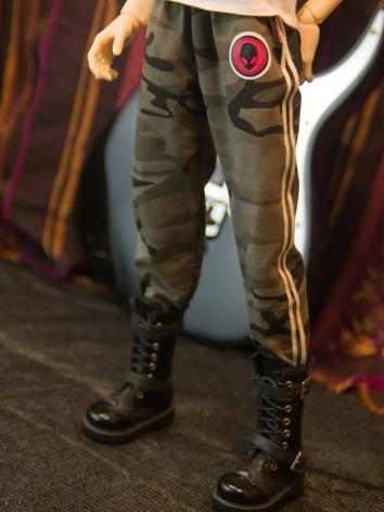 【Limited Item】BJD Clothes Boy Camouflage Trousers for SD13/SD17/70CM Ball-jointed Doll