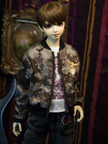 【Limited Item】BJD Clothes Boy Camouflage Jacket Coat for SD13/SD17/70CM Ball-jointed Doll