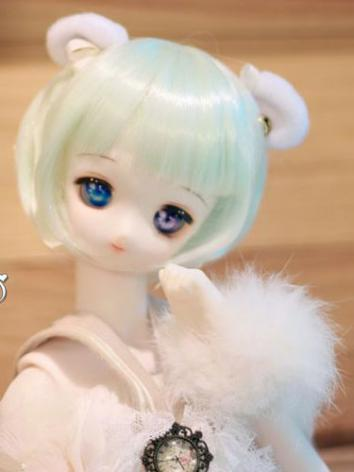 BJD Wig Girl/Boy Mint Short...