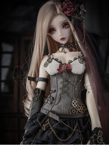 1/3 BJD Clothes Girl Black ...