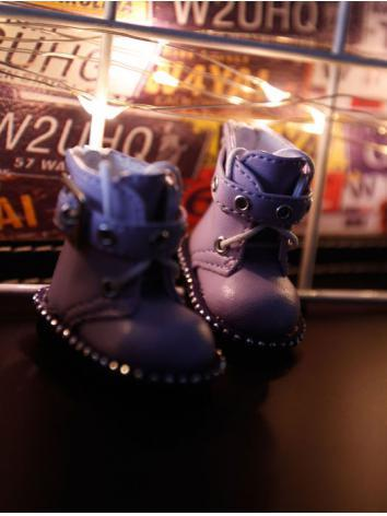 Bjd Girl/Boy Purple Shoes f...