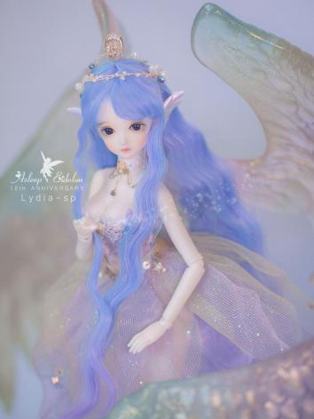 Limited Edition BJD Wing Fairy Pink-Kalika 27cm Girl Ball-Jointed Doll