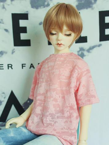 BJD Clothes Boy/Girl Pink T...