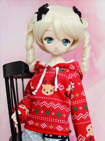 BJD Clothes Boy/Girl Red Ho...