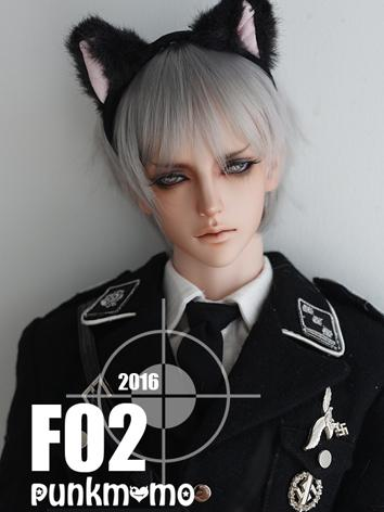 BJD Wig Boy Gray Short Hair...