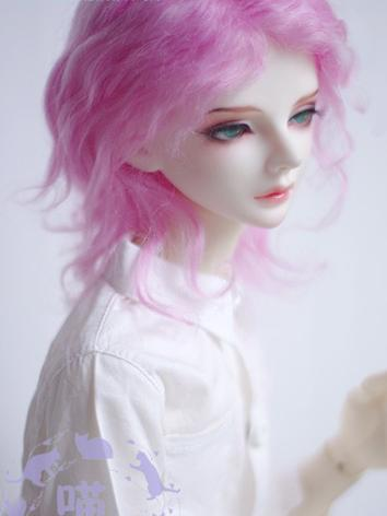 BJD Wig Boy Rose Hair for S...