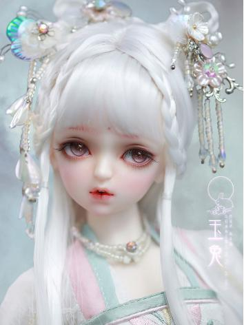 Limited Time BJD Jade Rabbit Girl 44cm Ball-Jointed Doll