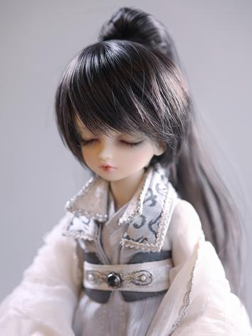 BJD 1/6 grey and black pony...