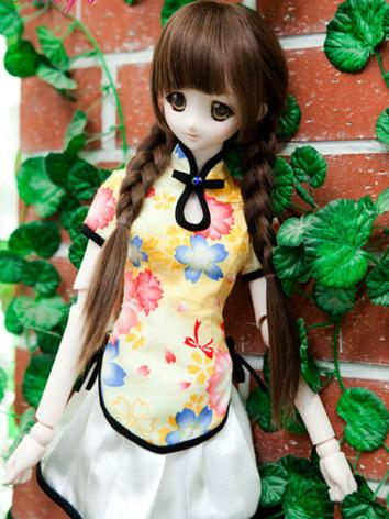 BJD Clothes Girl Shirt+Skir...