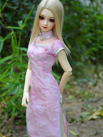 BJD Clothes Girl Cheongsam ...