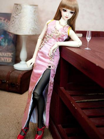 BJD Clothes Girl Pink Cheon...