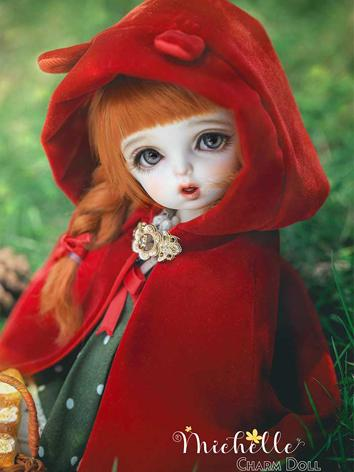 BJD Michelle·Little Red 26cm Ball-jointed doll