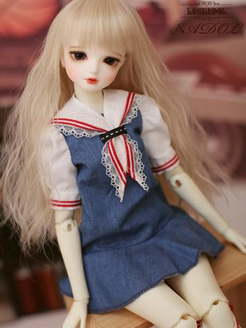 1/4 dress Girl Suit [Daily ocean] for MSD Ball-jointed Doll