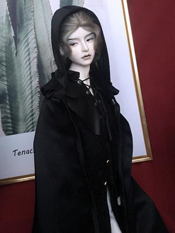BJD Clothes Boy Black Outif...