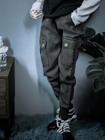 1/3 1/4 70cm Clothes Green/Black Trousers A243 for MSD/SD/70cm Size Ball-jointed Doll