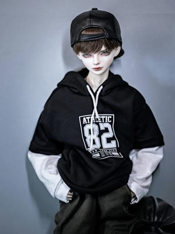 1/3 1/4 70cm Clothes Green/Pink/Black T-shirt Hoodies A242 for MSD/SD/70cm Size Ball-jointed Doll