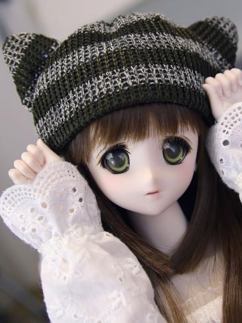 BJD Boy/Girl Stripe Hat for MSD/SD Ball-jointed doll