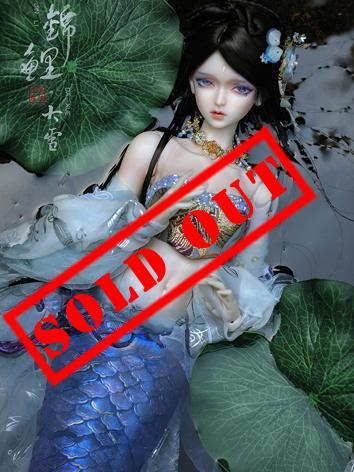 (AS Agency) Limited Doll BJD Greater Snow Mermaid 70cm Ball-Jointed Doll