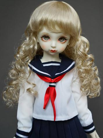 1/3 1/4 1/6 Wig Girl Gold C...