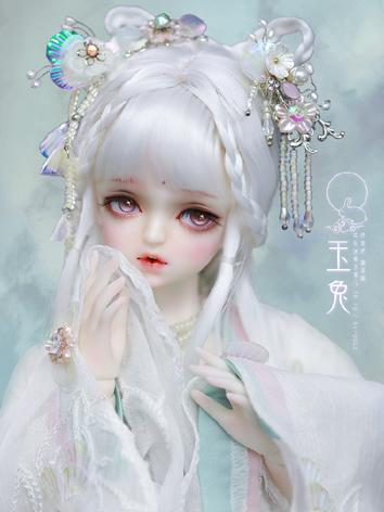 BJD 1/4 Kid Jade Rabbit hair accessory JE418101 for MSD Ball-jointed doll