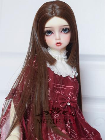 BJD Wig Girl Straight Hair ...