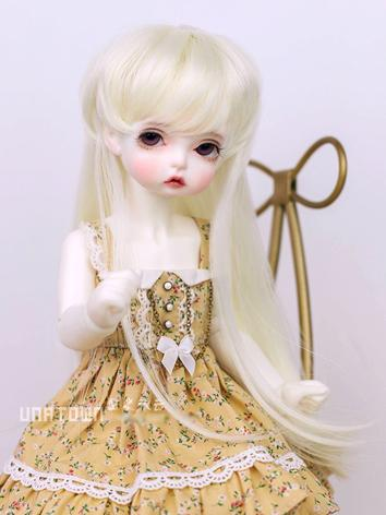 BJD Wig Boy Beige Hair for SD/MSD/YOSD Size Ball-jointed Doll