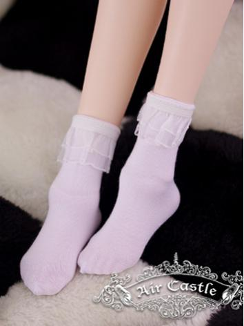 Bjd Socks White Short Socks for SD Ball-jointed Doll