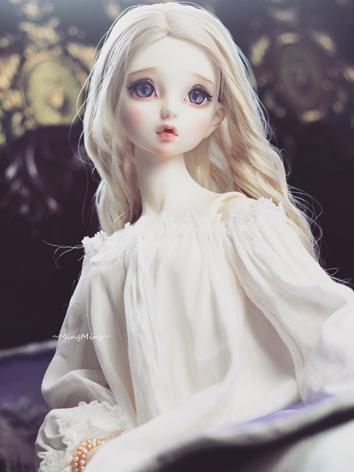 BJD Clothes Girl White Slee...