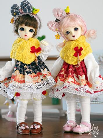 BJD Clothes Girl/Boy Black/...