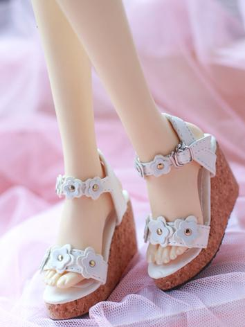 1/3 1/4 Shoes Girl Pink/Whi...