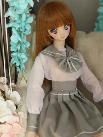 BJD Clothes Girl Sailor Sui...