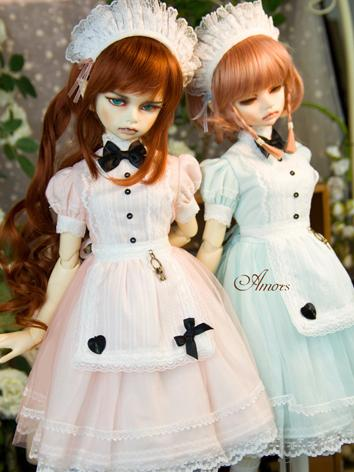 【Limited Item】BJD Clothes 1/3 1/4 Girl Dress for SD/MSD Ball-jointed Doll