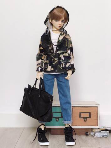 BJD Clothes Boy Camouflage ...