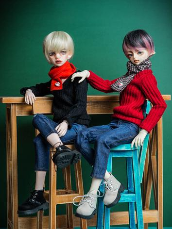 BJD Clothes Boy Sweater+Jea...