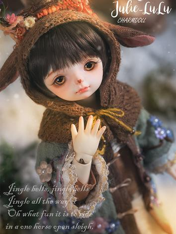Fullset Limited Time BJD JuLie-Lulu 26cm Ball-jointed doll