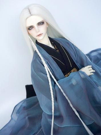 BJD Wig Boy/Girl White/Blac...
