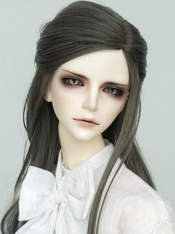 BJD Wig Boy/Girl Gray Hair ...