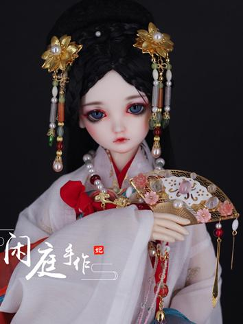 BJD Ancient Hairpiece Hair Accessaries Set for SD Ball-jointed doll