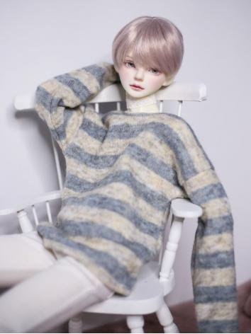 1/3 1/4 70cm Clothes Stripe Sweater A251 for MSD/SD/70cm Size Ball-jointed Doll
