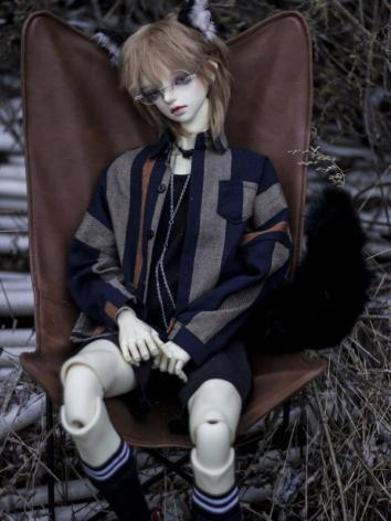 1/3 1/4 70cm Clothes Shirt A244 for MSD/SD/70cm Size Ball-jointed Doll