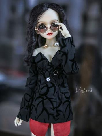 BJD Clothes Girl Dark Blue/...