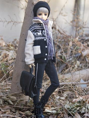 【Limited Item】BJD Clothes Boy Warm Suit for SD13/SD17/70CM Ball-jointed Doll