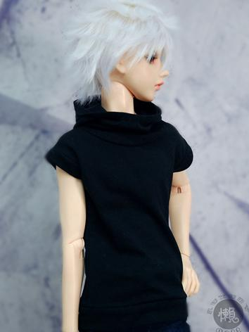 BJD Clothes Boy Black High-...