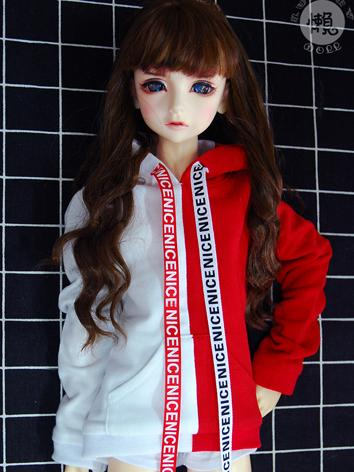 BJD Clothes Boy/Girl Hoody T-shirt for SD10/SD13/SD17/70cm/MSD Ball-jointed Doll