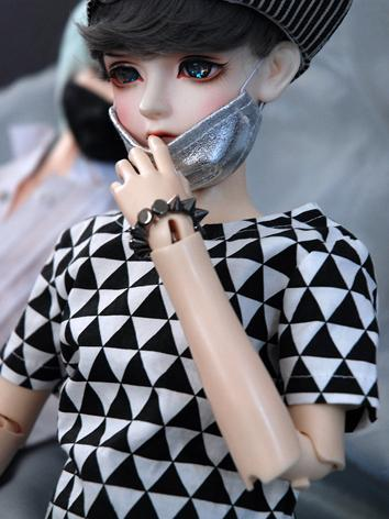 BJD Clothes Boy/Girl Black&...