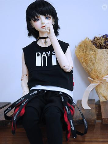 BJD Clothes Boy Street Suit for MSD/SD10/SD13/SD17/70cm Ball-jointed Doll