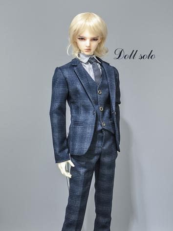 BJD Clothes Boy Outfit Blue...