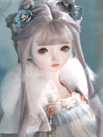BJD Limited 60 Fullsets Qing Zhuang Girl 42.5cm Ball-jointed doll